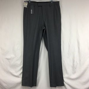 NWT Kenneth Cole Reaction Heathered Gray Pants
